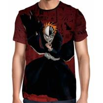 Camisa Full Color Print - Bleach - Ichigo Hollow Mode