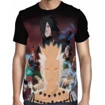 Camisa FULL Madara - Gaara - Naruto