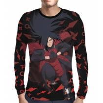 Camisa Manga Longa Naruto - Uchiha Madara - Color Print