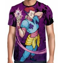 Camisa Color Print - Hisoka Modelo 2 - Hunter x Hunter