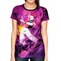 Camisa Color Print - Hisoka - Hunter x Hunter