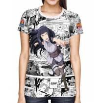 Camisa FULL Print Mangá The Last Hinata - Naruto
