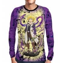 Camisa Manga Longa Print Purple Mangá Meliodas - Nanatsu no Taizai