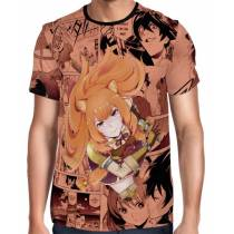 Camisa Full PRINT Mangá Sword Raphtalia - Tate no Yuusha no Nariagari - The Rising of the Shield Hero