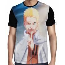Camisa FULL Naruto Seventh Hokage Modelo 2