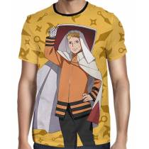 Camisa FULL Color Print Naruto Seventh Hokage