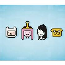 Mouse Pad - 8 Bits Adventure Time