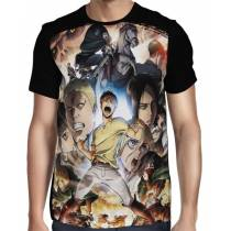 Camisa FULL Season 2 - Shingeki no Kyojin