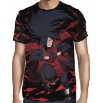 Camisa Naruto - Uchiha Madara - Color Print