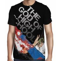 Camisa Exclusiva The God of High School Hui Mori - Estampa Total