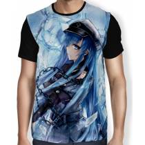 Camisa FULL Ice Queen Esdeath - Akame Ga Kill