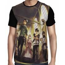 Camisa FULL Recon Resistance- Shingeki no Kyojin
