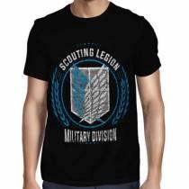 Camisa FULL Scouting Legion - Só Frente - Shingeki no Kyojin