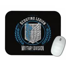 Mouse Pad - Tropa de Exploração - Attack on Titan - Shingeki No Kyojin