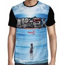 Camisa FULL Ocean Season 3 - Shingeki no Kyojin