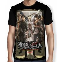 Camisa FULL DARK Season 3 - Shingeki no Kyojin