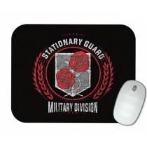 Mouse Pad - Tropa Estacionária - Attack on Titan - Shingeki No Kyojin