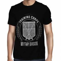 Camisa FULL Training Corps - Só Frente - Shingeki no Kyojin