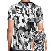 Camisa Full PRINT Camuflada Cinza Apex Legends - Personalizada Modelo Apenas Nick Name