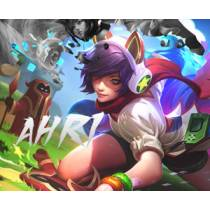Mouse Pad - Arcade Ahri - League of Legends