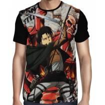 Camisa FULL Levi Ackerman - Shingeki no Kyojin