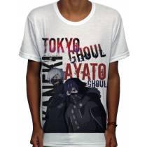 Camisa SB Ayato e Kaneki - Tokyo Ghoul