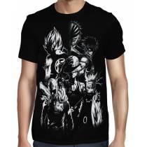 Camisa Full Print Especial Protagonistas - Best Animes