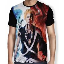 Camisa Full Ichigo Hollow - Bleach