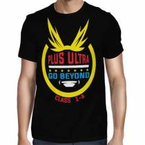Camisa FULL Go Beyond Class 1-A - Só Frente - Boku No Hero Academia