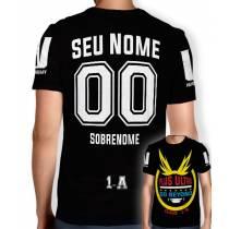 Camisa Full PRINT Go Beyond - Personalizada Modelo 00 - Boku No Hero Academia