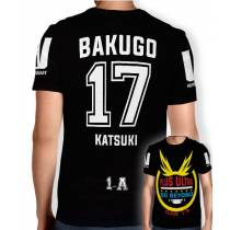 Camisa Full PRINT Go Beyond - Bakugo Katsuki - Boku No Hero Academia