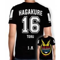 Camisa Full PRINT Go Beyond - Hagakure Toru - Boku No Hero Academia