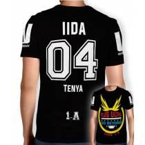 Camisa Full PRINT Go Beyond - Iida Tenya - Boku No Hero Academia