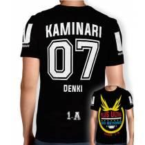 Camisa Full PRINT Go Beyond - Kaminari Denki - Boku No Hero Academia