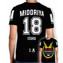 Camisa Full PRINT Go Beyond - Midoriya Izuku - Boku No Hero Academia