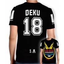 Camisa Full PRINT Go Beyond - Deku Midoriya - Boku No Hero Academia