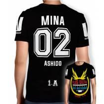 Camisa Full PRINT Go Beyond - Mina Ashido - Boku No Hero Academia