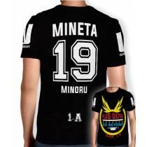 Camisa Full PRINT Go Beyond - Mineta Minoru - Boku No Hero Academia