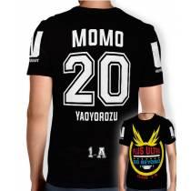 Camisa Full PRINT Go Beyond - Momo Yaoyorozu - Boku No Hero Academia