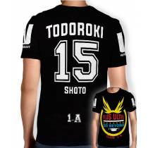 Camisa Full PRINT Go Beyond - Todoroki Shoto - Boku No Hero Academia