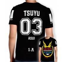 Camisa Full PRINT Go Beyond - Tsuyu Asui - Boku No Hero Academia