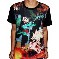 Camisa FULL Deku Fight - Boku No Hero Academia