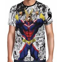 Camisa Full PRINT All Might - Boku No Hero Academia
