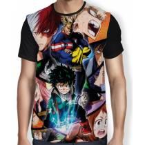 Camisa FULL Color Draw - Boku No Hero Academia