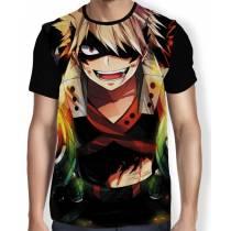 Camisa FULL Smile Bakugou - Boku No Hero Academia