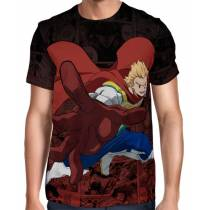 Camisa Full Color Print Red - Mirio Togata - Boku no Hero
