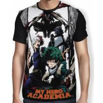 Camisa FULL Midoriya - Todoroki - Batlle - Boku No Hero Academia