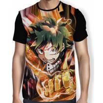 Camisa FULL Soco Midoriya - Boku No Hero Academia