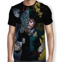 Camisa FULL One's Justice - Deku - All Migth - Boku No Hero Academia