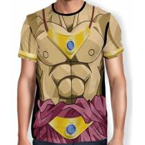 Camisa Full Print Uniforme - Broly - Dragon ball